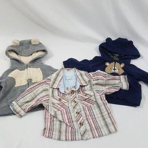 Boys Sweatshirts/Top Bundle Size 3 Months